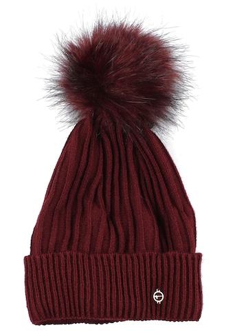Tamaris Strickmütze, Fake Fur Bommel kaufen