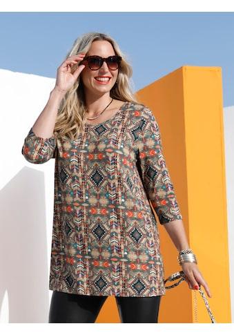MIAMODA Longshirt mit Ethnodruck kaufen
