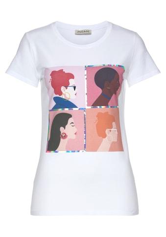 Please Jeans T-Shirt »T 723«, mit SchriftPrint kaufen