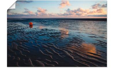 Artland Wandbild »Endlose Weite - Insel Amrum«, Gewässer, (1 St.), in vielen Größen &... kaufen