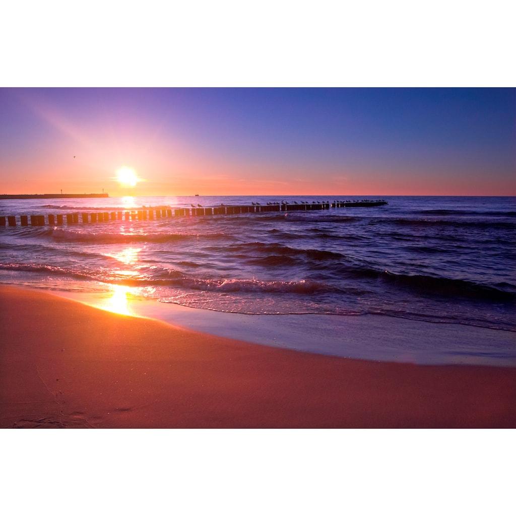 Papermoon Fototapete »Sunset«