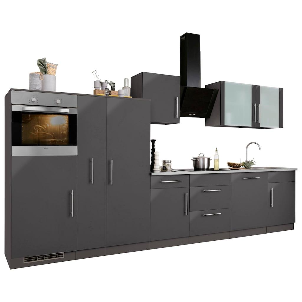 wiho Küchen Küchenzeile »Cali«, ohne E-Geräte, Breite 360 cm
