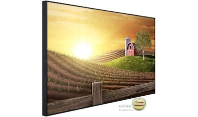 Papermoon Infrarotheizung »Morgen auf dem Bauernhof«, sehr angenehme Strahlungswärme kaufen