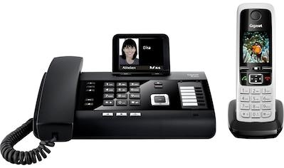Gigaset »DL500A + C430HX« Kabelgebundenes Telefon (Mobilteile: 1, LAN (Ethernet),Bluetooth) kaufen