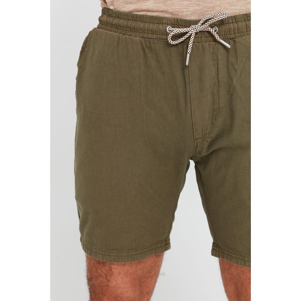 Indicode Shorts »Aberavon«, kurze Hose mit Kontrastkordeln