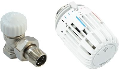 Heizkörperthermostat »Eck«, Thermostatventil und Kopf kaufen