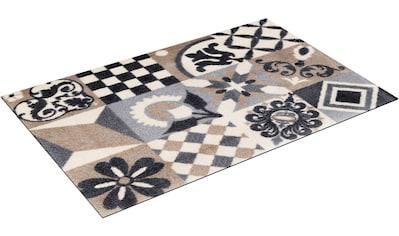 wash+dry by Kleen-Tex Fußmatte »Alcina«, rechteckig, 9 mm Höhe, Schmutzfangmatte, In-... kaufen