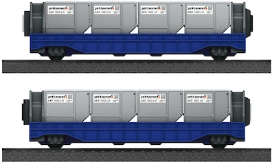 Märklin Güterwagen »Märklin my world - Wagen-Set Airport Jettainer - 44117« kaufen