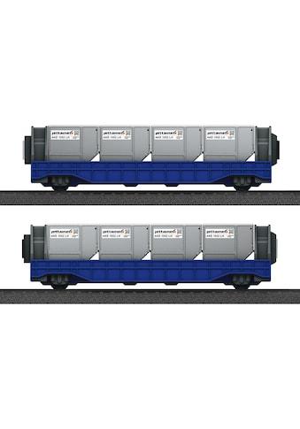 "Märklin Güterwagen ""Märklin my world  -  Wagen - Set Airport Jettainer  -  44117"", Spur H0, (Set, 10tlg.) kaufen"
