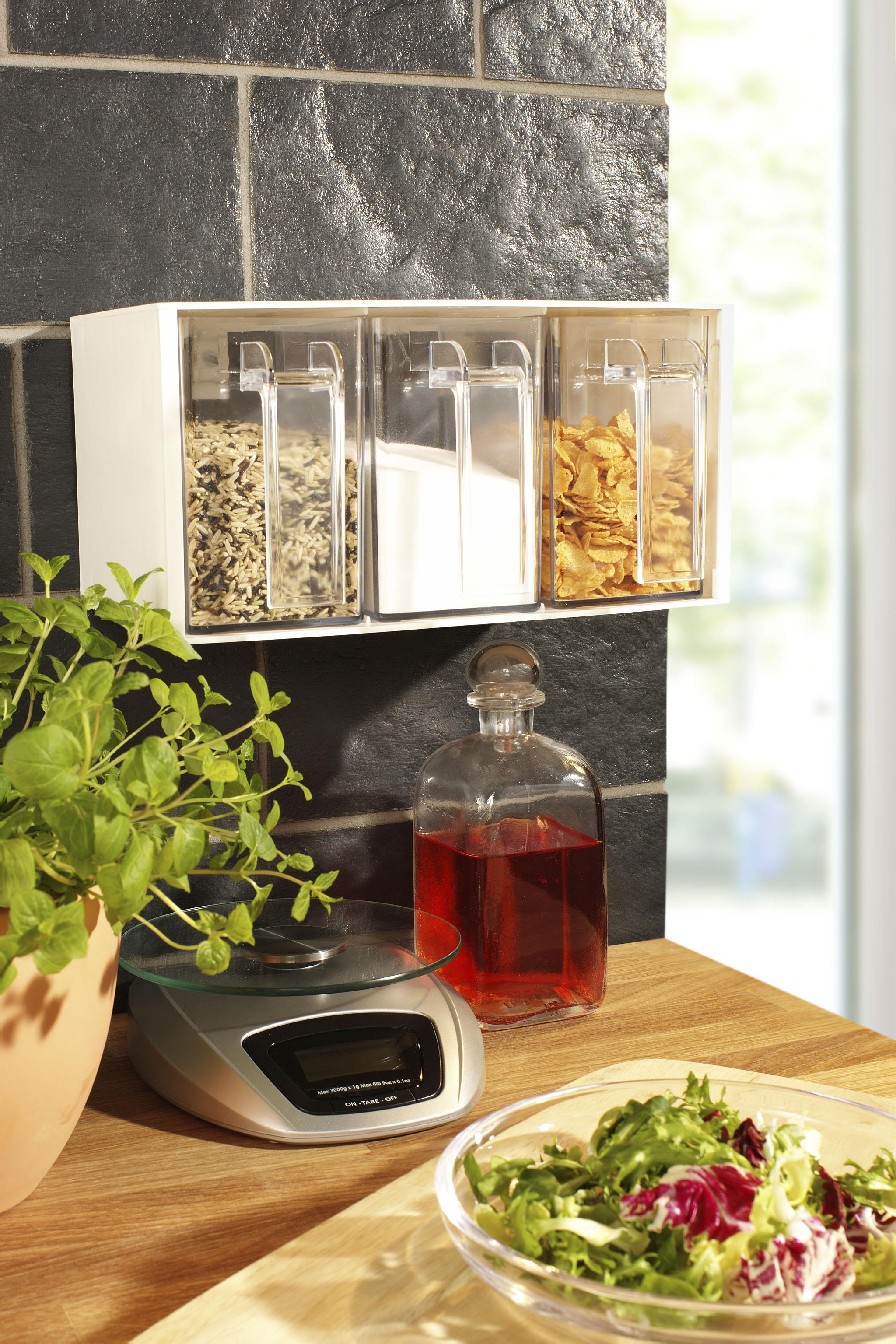 Ruco Aufbewahrungssystem, (Set, 2 tlg.) farblos Küchen-Ordnungshelfer Küchenhelfer Küche Aufbewahrungssystem 891838