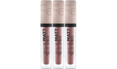 Catrice Lippenstift »Matt Pro Ink Non-Transfer Liquid Lipstick«, (Set, 3 tlg.) kaufen