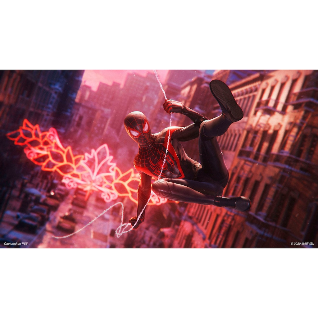 PlayStation 5 Wireless-Controller »DualSense«, inkl. Marvel's Spider-Man: Miles Morales