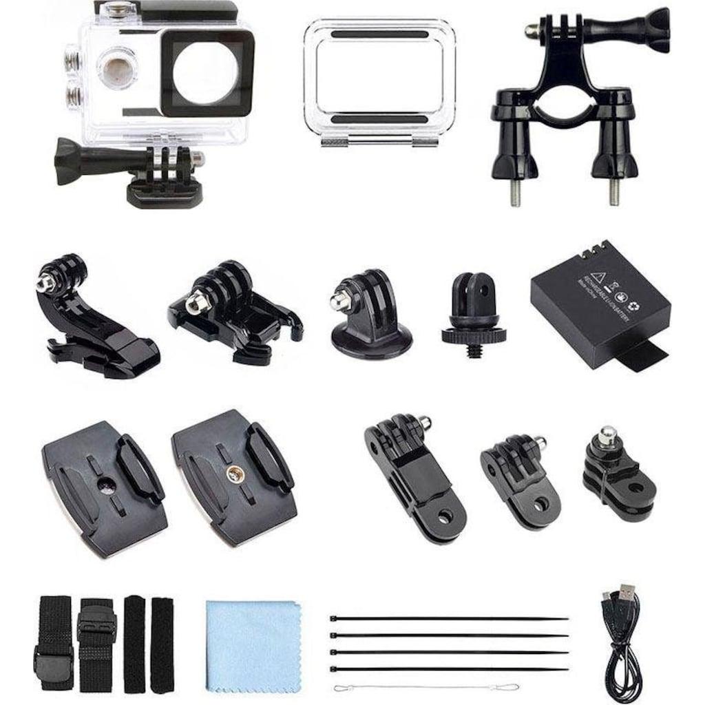 GoXtreme Camcorder »Black Hawk 4K + Ultra HD«, 4K Ultra HD, WLAN (Wi-Fi)