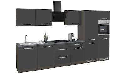 HELD MÖBEL Küchenzeile »Mito«, mit E-Geräten, Breite 360 cm kaufen