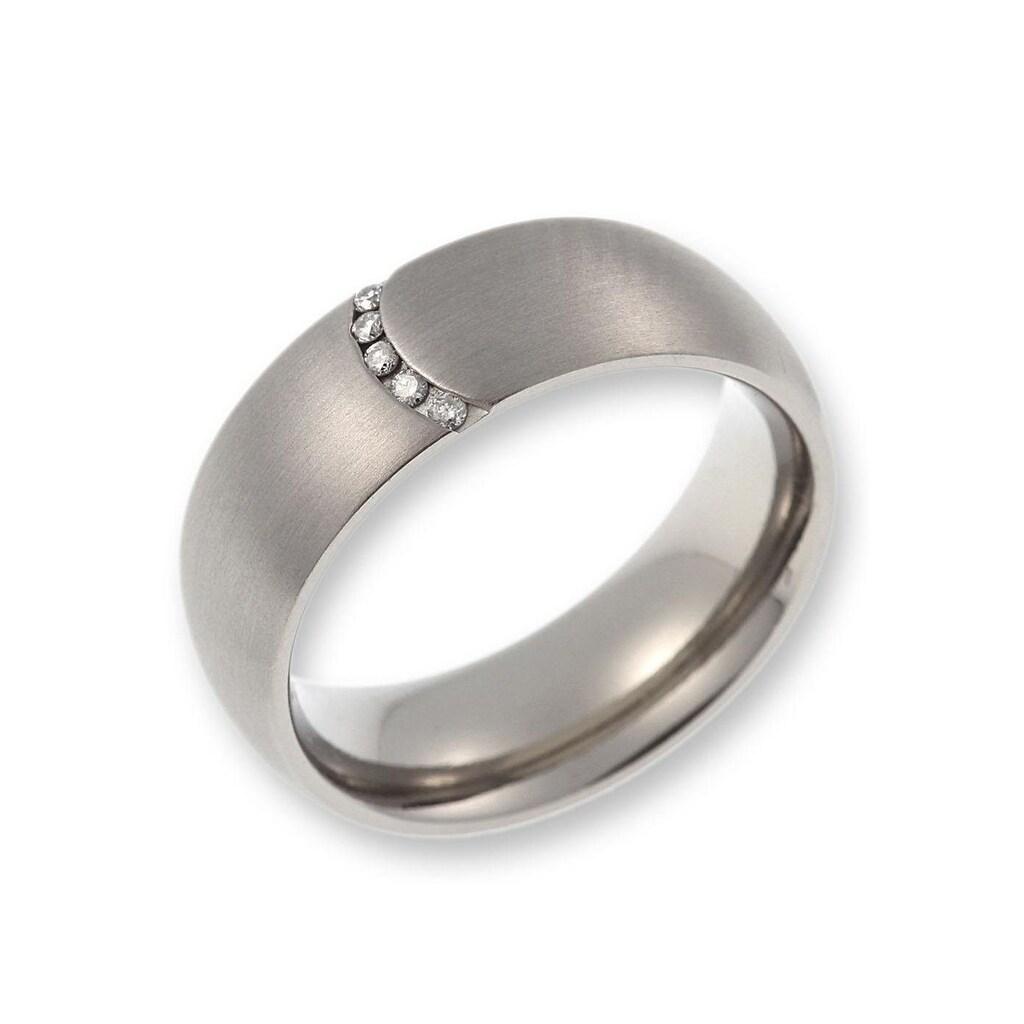 CORE by Schumann Design Trauring »20006163-DR, 20006163-HR, ST044.03«, Made in Germany - wahlweise mit oder ohne Diamanten
