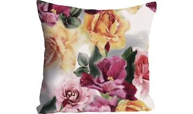 queence Kissenhülle »Blüten & Blätter«, (1 St.) kaufen