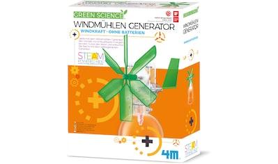 4M Experimentierkasten »Green Science - Windmühlen Generator« kaufen
