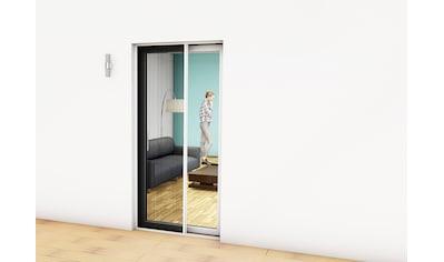 hecht international Insektenschutz - Tür, weiß/anthrazit, BxH: 125x220 cm kaufen
