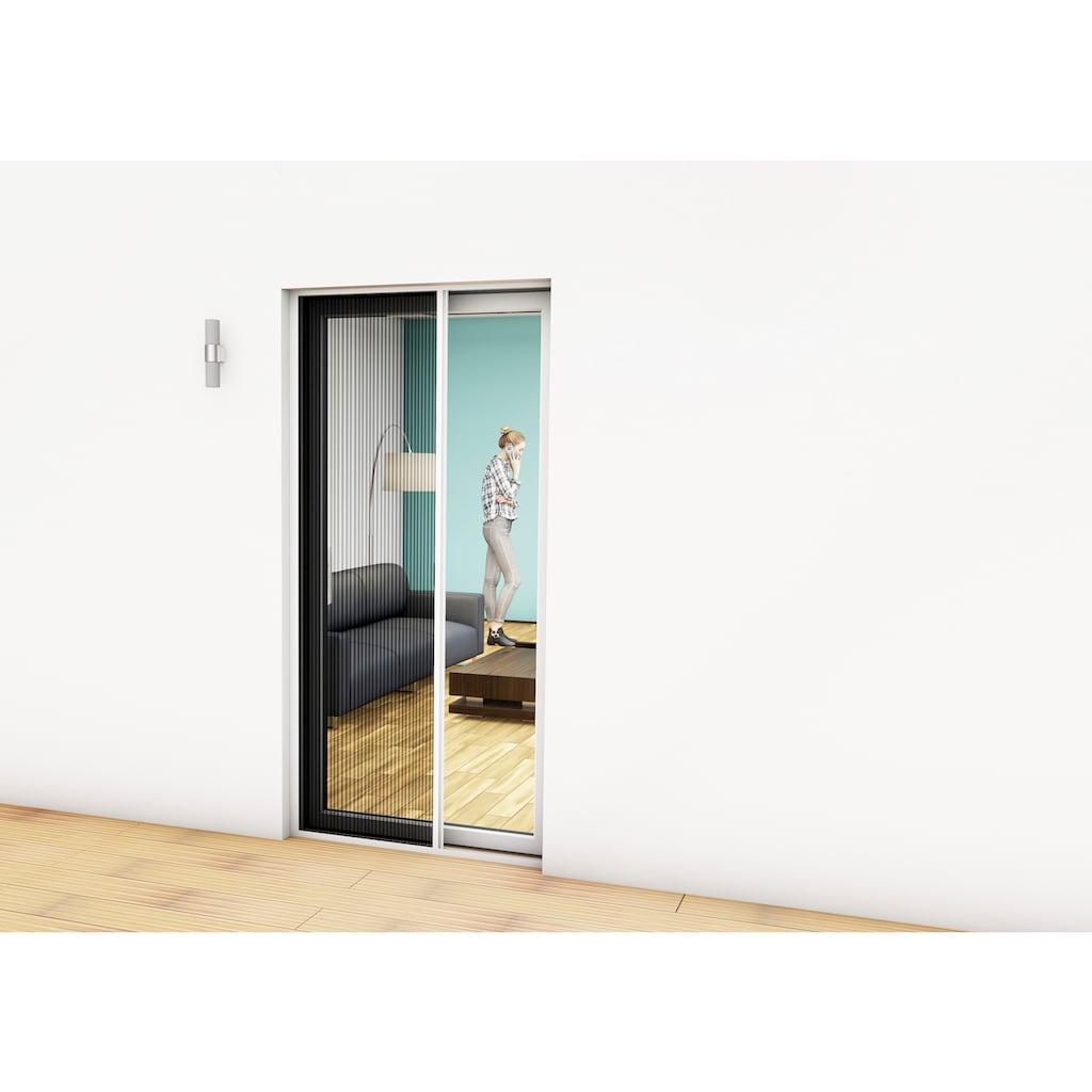 hecht international Insektenschutz-Tür, weiß/anthrazit, BxH: 125x220 cm