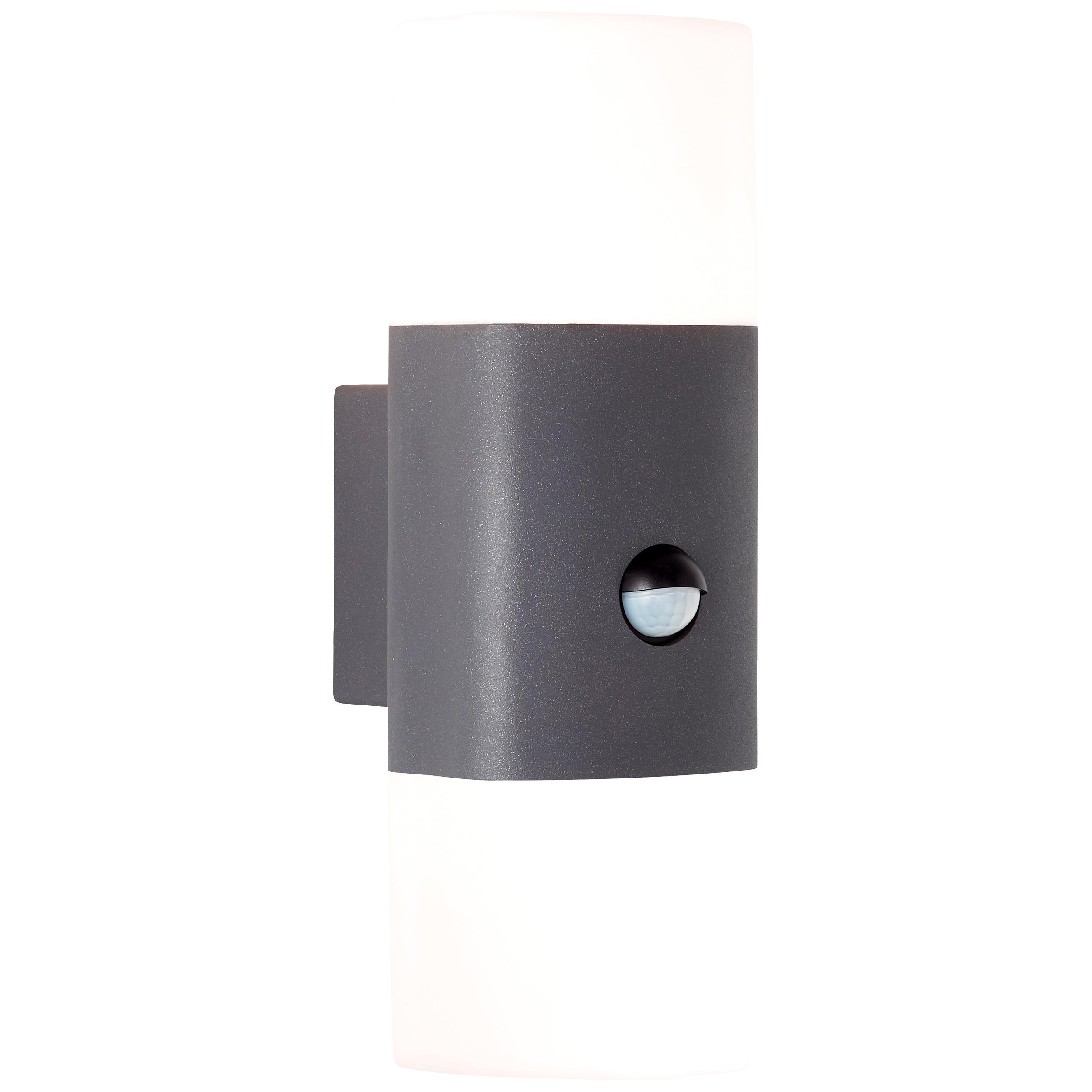 AEG Farlay LED Außenwandleuchte 2flg Bewegungsmelder anthrazit
