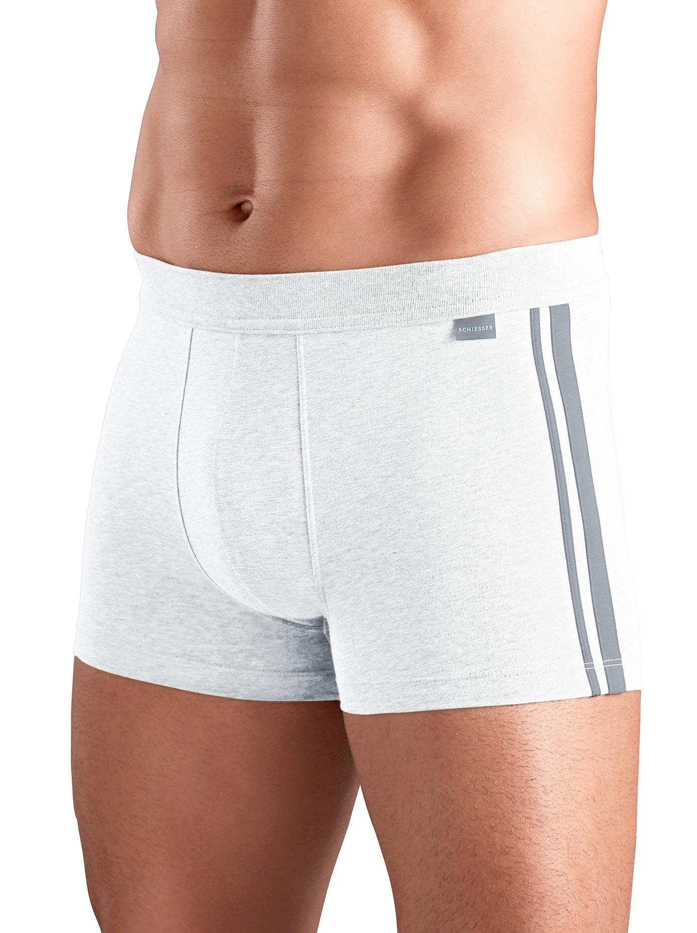 Pants Schiesser | Bekleidung > Wäsche > Hipster | Weiß | Baumwolle | Schiesser