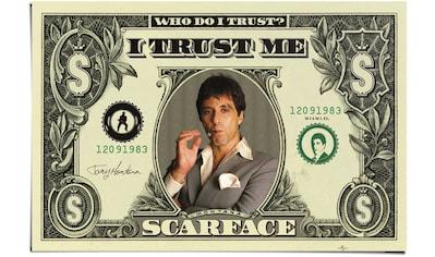 Reinders! Poster »Scarface Dollar«, (1 St.) kaufen
