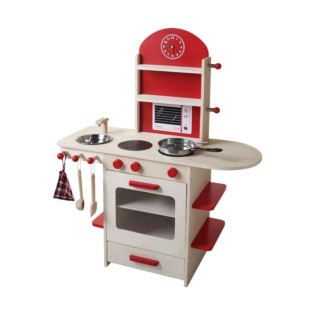roba® Spielküche »Weiß/Rot«