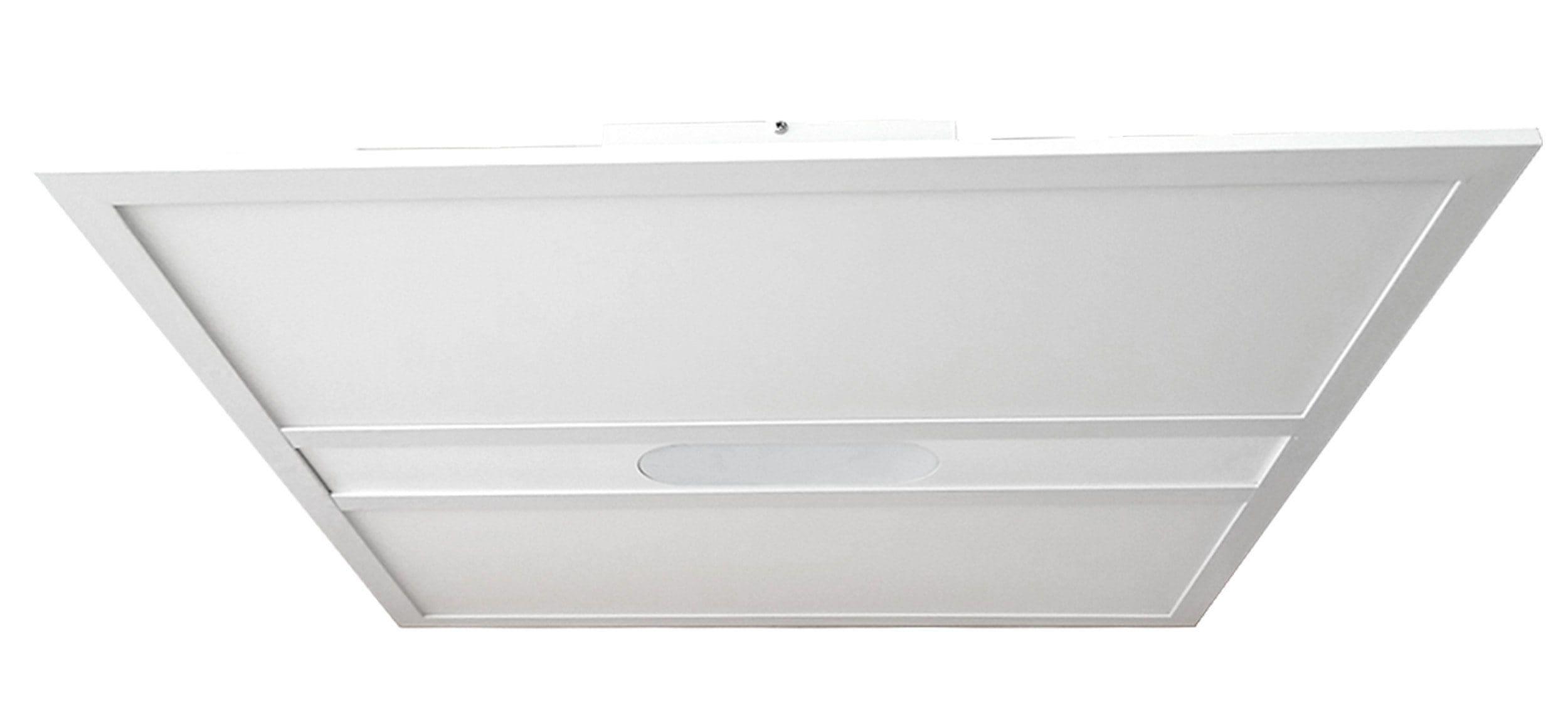 BreLight Mirius LED Deckenaufbau-Paneel 60x60cm weiß
