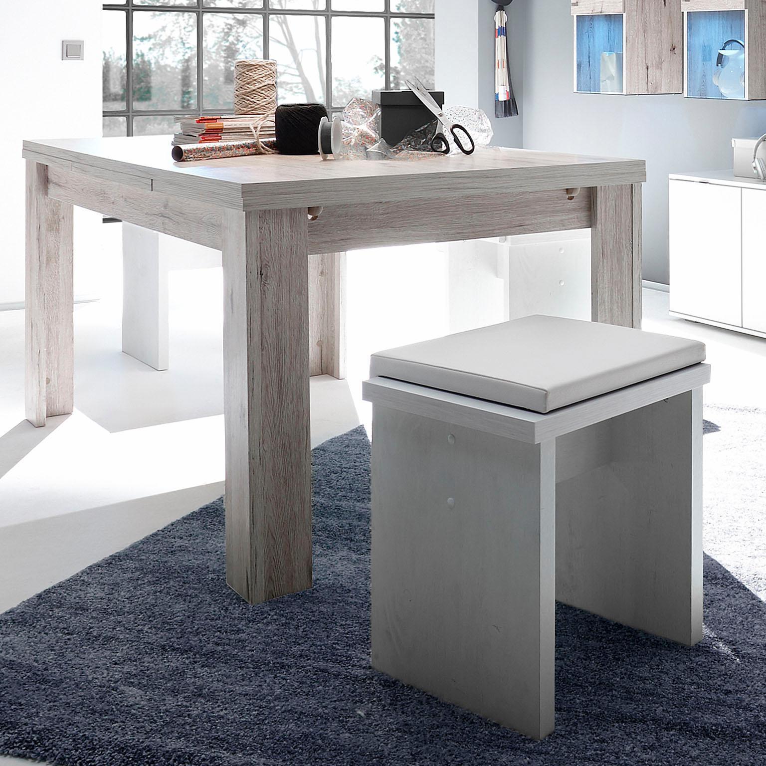Esstisch, ausziehbar, Breite 180-280 cm beige Ausziehbare Esstische Tische Esstisch