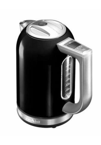 KitchenAid Wasserkocher »5KEK1722EOB«, 1,7 l, 2400 W, schwarz kaufen