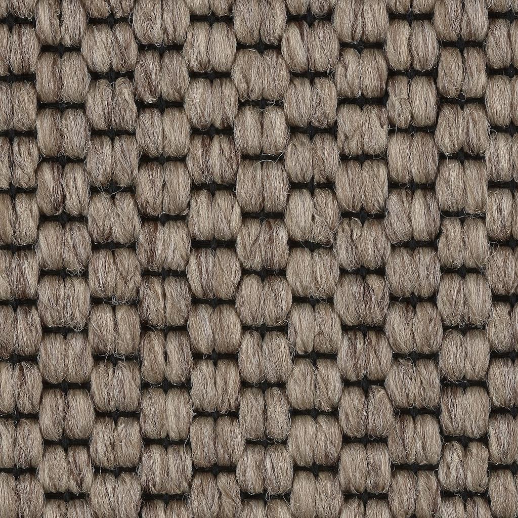 Bodenmeister Teppichboden »Turania«, rechteckig, 5,3 mm Höhe, Meterware, Breite 400/500 cm, Sisal-Optik Schlinge