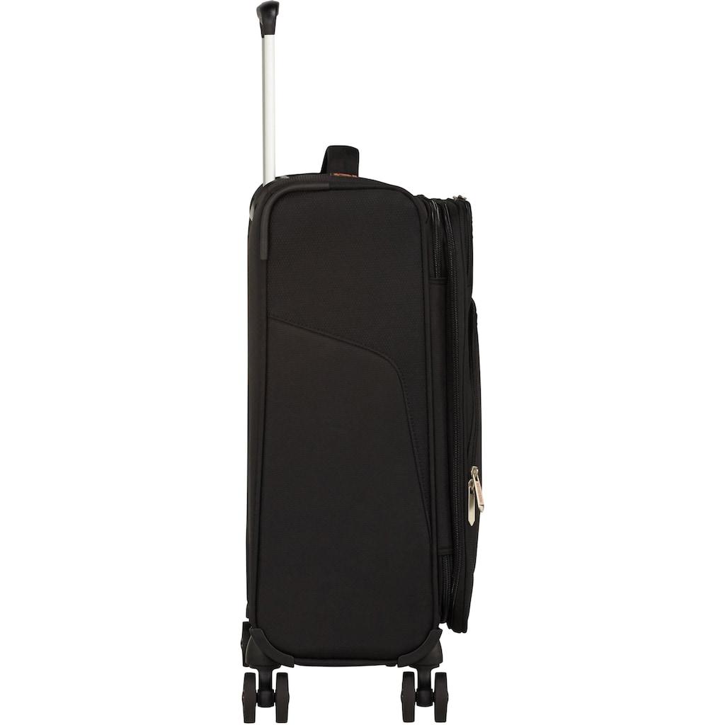 American Tourister® Weichgepäck-Trolley »Summerfunk, 55 cm, black«, 4 Rollen