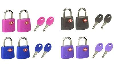 Master Lock Vorhängeschloss »TSA«, TSA Gepäckschloss, 23 mm, 2er Pack kaufen