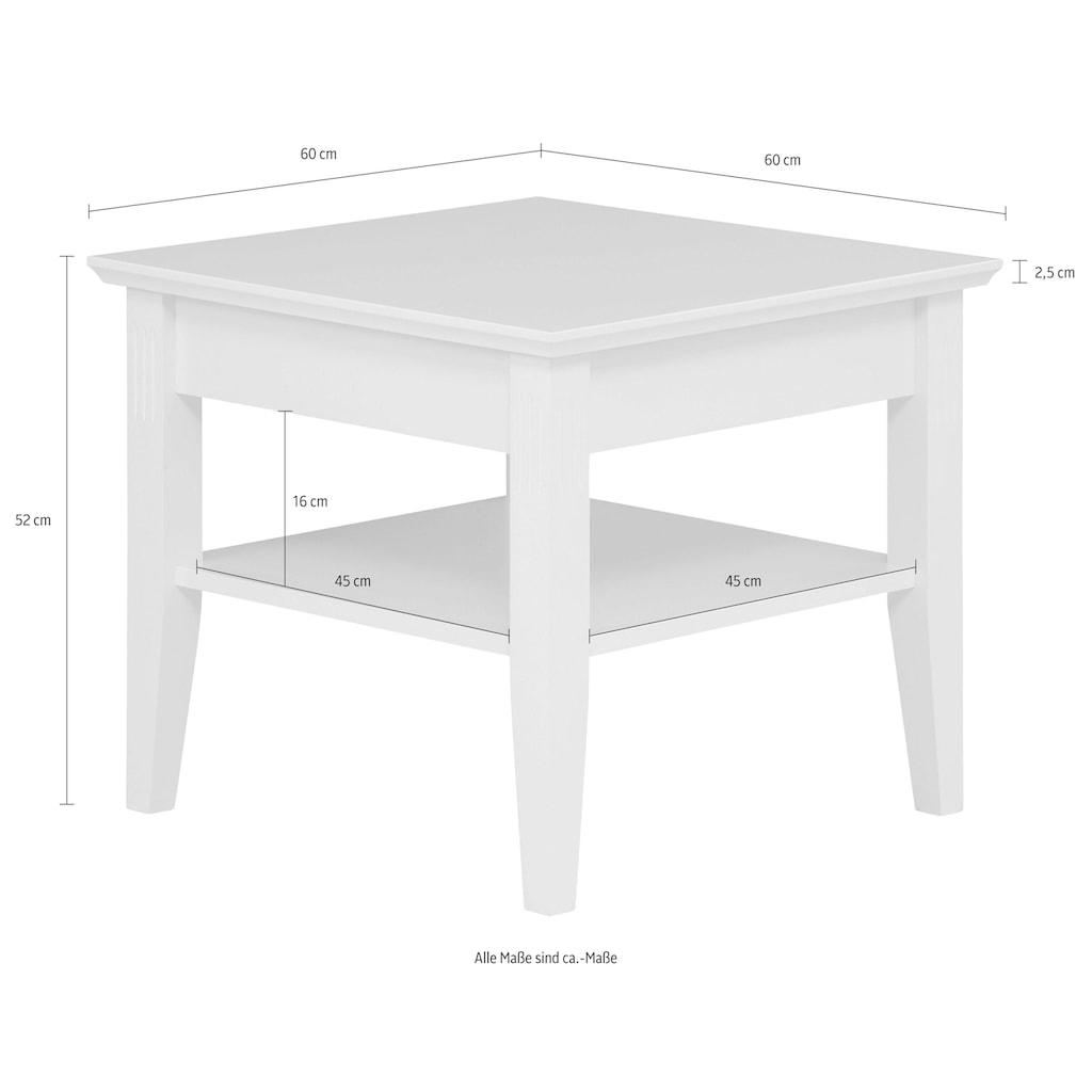 Home affaire Couchtisch »Piano«, mit Ablageboden, Breite 60 cm