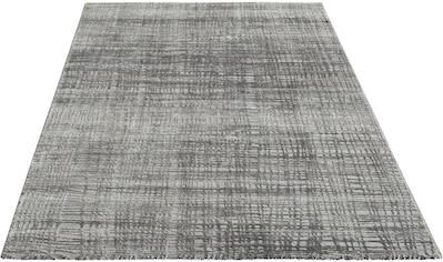 my home Teppich »Mariano«, rechteckig, 12 mm Höhe, Hoch-Tief-Struktur kaufen