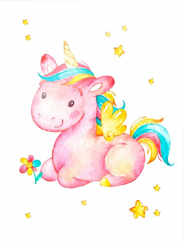 Poster »Pinky the Unicorn« (2 St.)