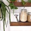 Wall-Art Holzbild »Tischdeko Giraffe Holzbild«, (1 St.)