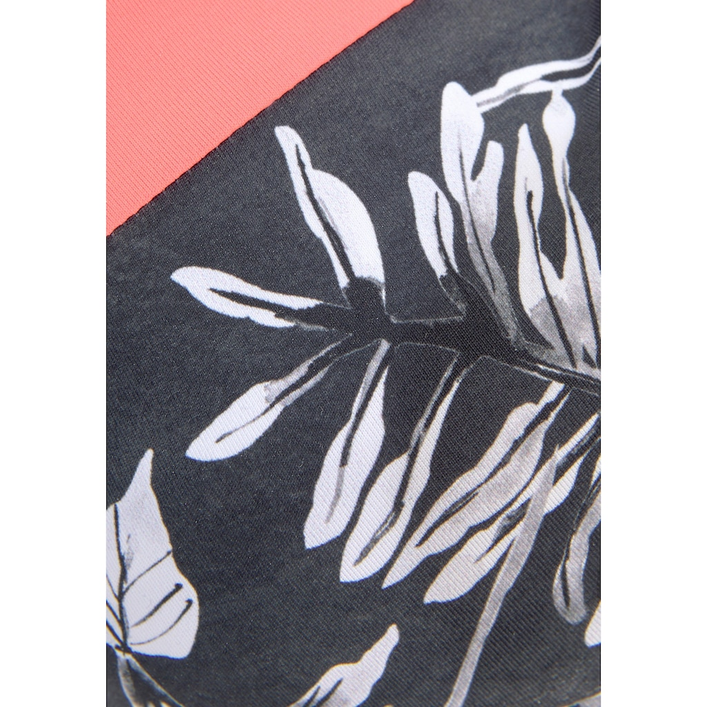 Sunseeker Push-Up-Bikini-Top »Mono«, mit kontrastfarbenem Einsatz