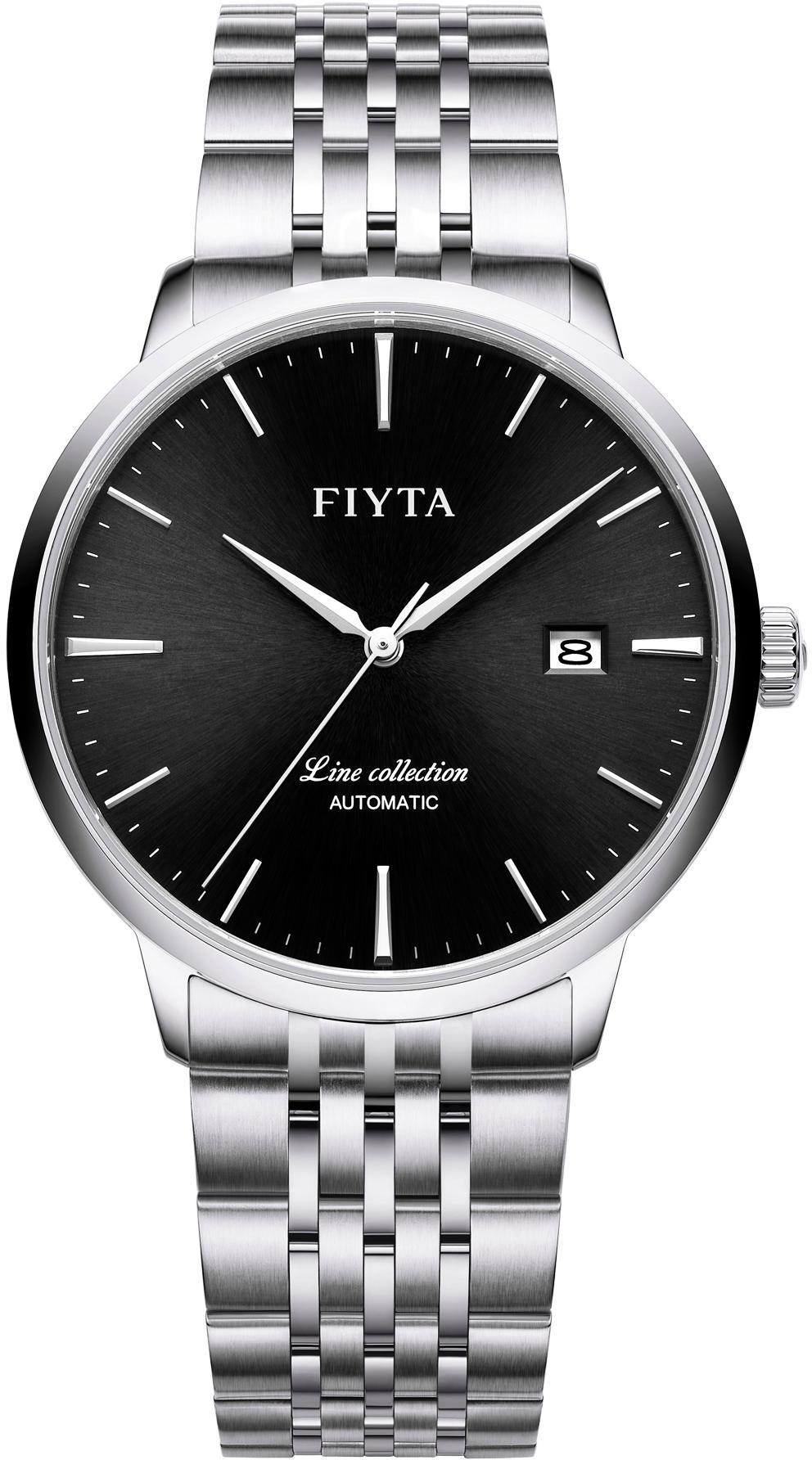 FIYTA Automatikuhr Line GA801001WBW | Uhren > Automatikuhren | Schwarz | Fiyta