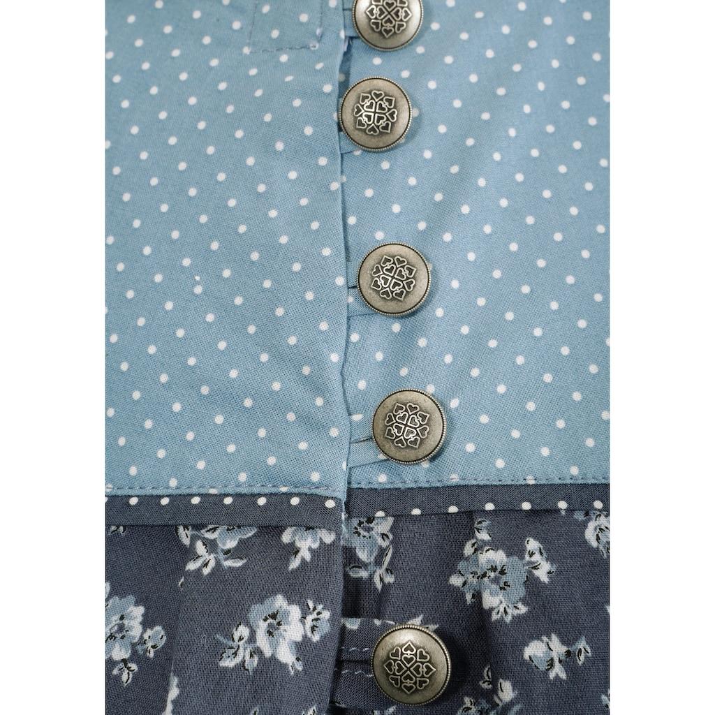 Trachtenrock, mit seitlichem Knopfverschluss