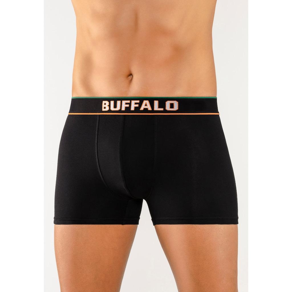 Buffalo Boxer, Webbund im College Design