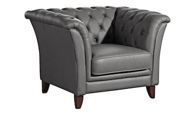 Max Winzer® Chesterfield-Sessel »New Castle«, mit edler Knopfheftung kaufen