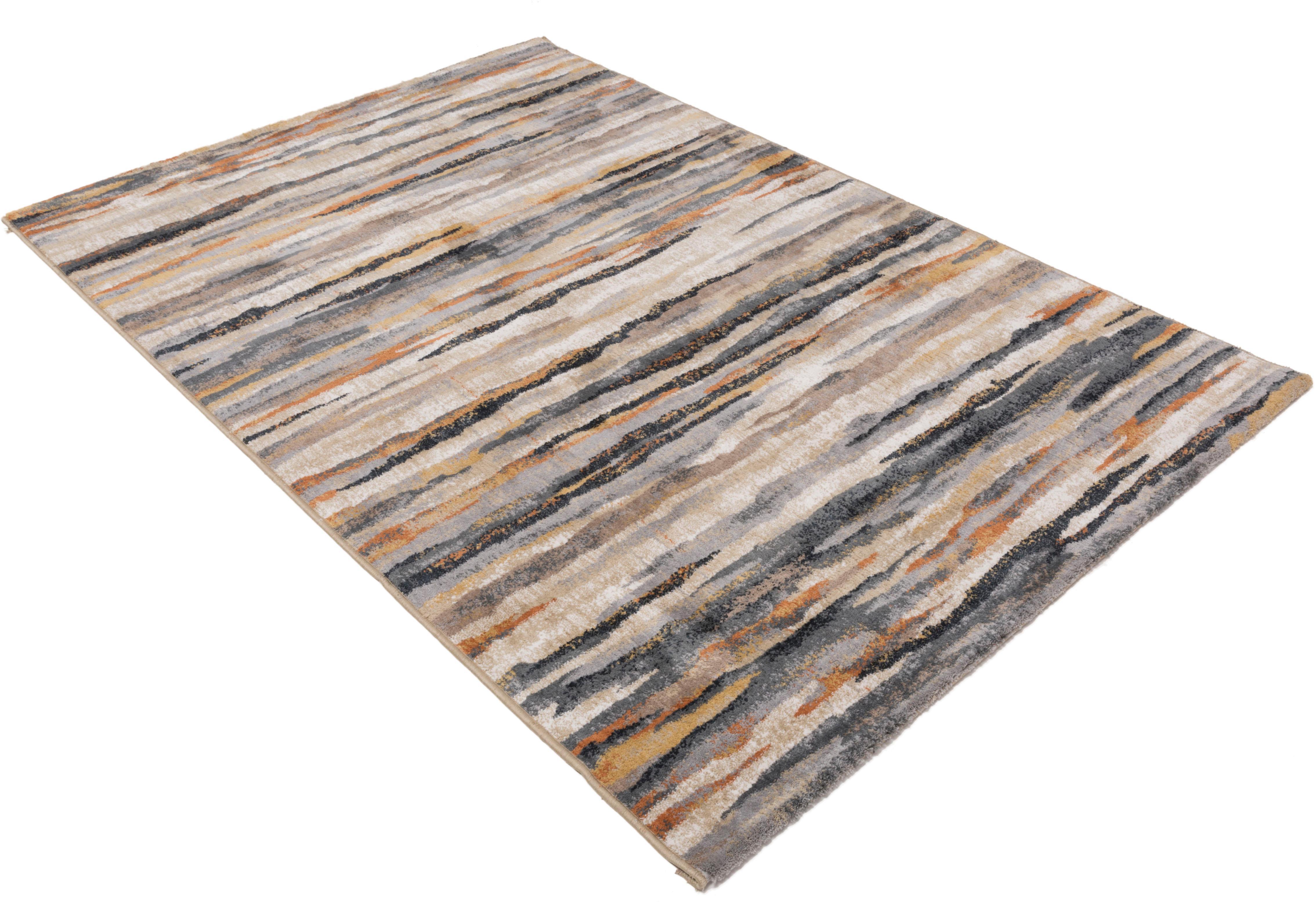 Teppich Anna Maria Stirpe Gino Falcone rechteckig Höhe 20 mm maschinell gewebt