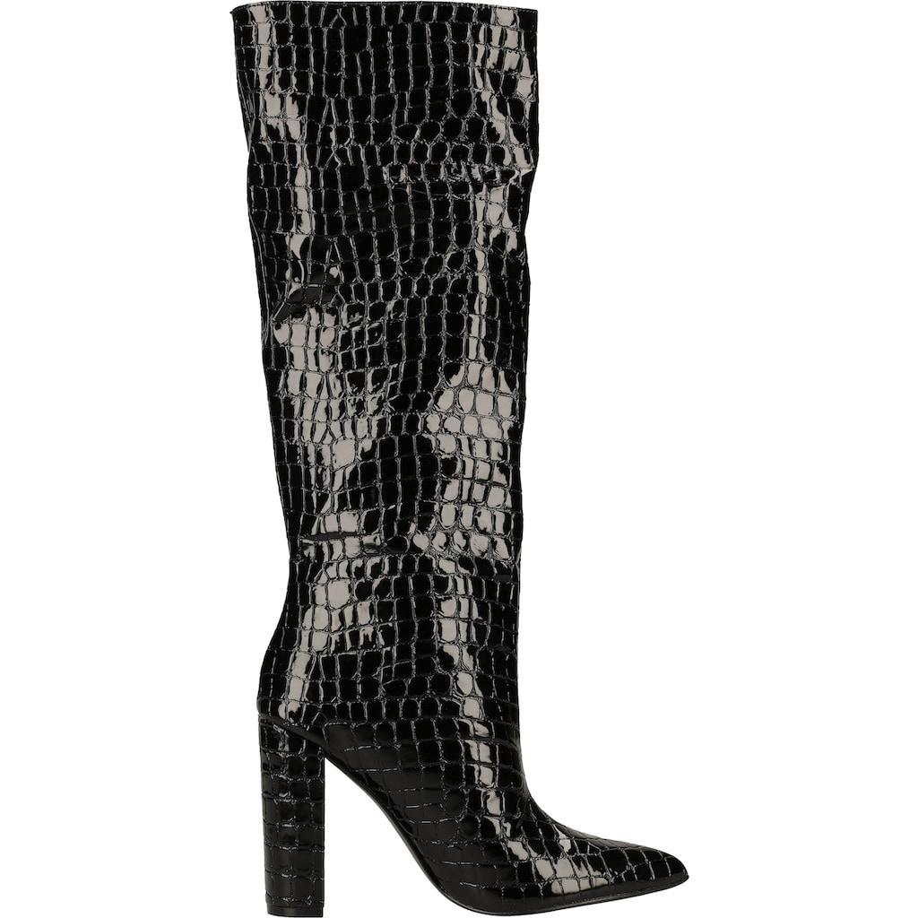 STEVE MADDEN High-Heel-Stiefel »Lederimitat«