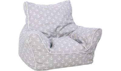 Knorrtoys® Sitzsack »Maritim Grey« kaufen
