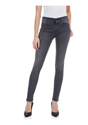 Replay Skinny-fit-Jeans »New Luz«, in dezenter Used-Optik kaufen