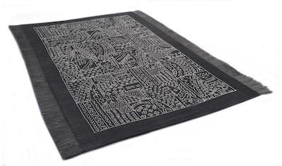 Orientteppich, »Taama«, DIE HAUSKUNST, rechteckig, Höhe 4 mm, handgewebt kaufen