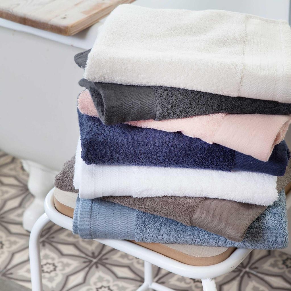 Walra Handtücher »Soft Cotton«, (4 St.), mit gewebter Bordüre