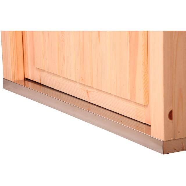 WOLFF FINNHAUS Gartenhaus »Monika 34-B«, BxT: 360x440 cm, inkl. Fußboden