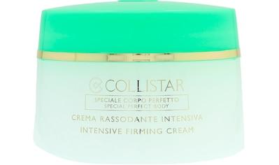 """COLLISTAR Körpercreme """"Intensive Firming Cream"""" kaufen"""
